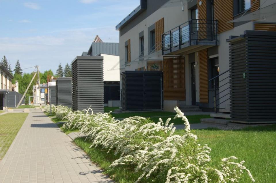 Santariškių namų aplinka